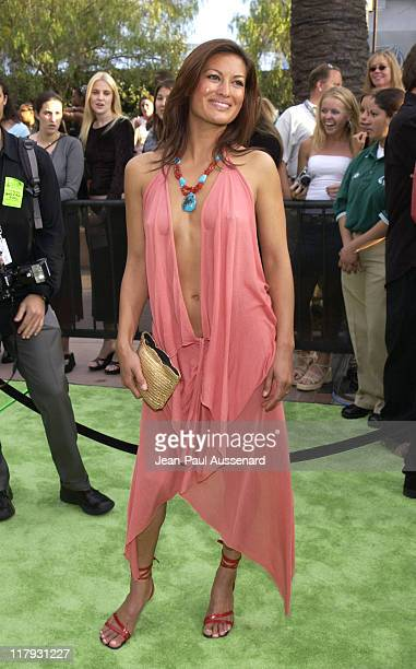Malia Jones during ESPN Action Sports and Music Awards Arrivals at The Universal Amphitheater in Universal City California United States
