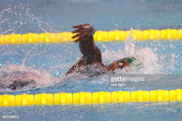 Malia METELLA Finale du 100m Nage Libre Championnats de France de natation 2009 Piscine Antigone Montpellier