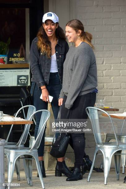 Malia Obama is seen on May 06, 2017 in New York City.