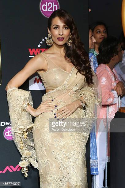 Maliaka Arora Khan arrives to the IIFA Magic of the Movies at MIDFLORIDA Credit Union Amphitheatre on April 25 2014 in Tampa Florida