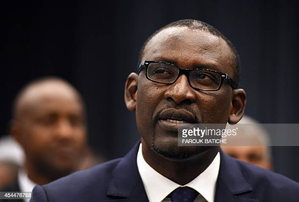 Malian Foreign Affairs Minister Abdoulaye Diop attends the opening of peace talks on September 1 2014 in Algiers between the Malian government and...
