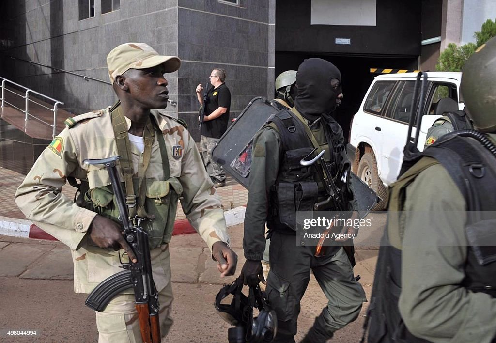 Siege underway at hotel in Malian capital : News Photo