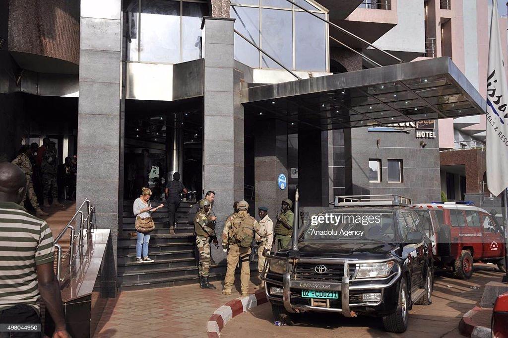 Siege underway at hotel in Malian capital : News Photo