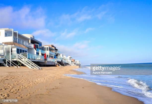 malibu beach, california, usa - malibu stock pictures, royalty-free photos & images