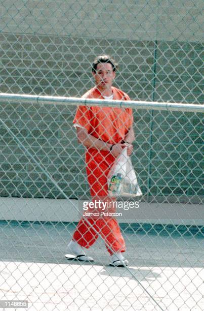 Malibu, CA. Robert Downey, Jr. On his way to the bus after his hearing. The actor was sentenced to 3 years in prison for violating his probation....