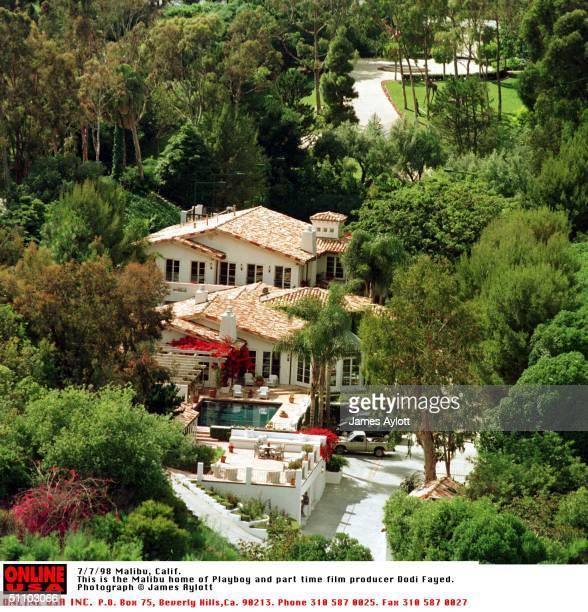 Malibu, Calif. The Malibu Home Of The Late Dodi Fayed