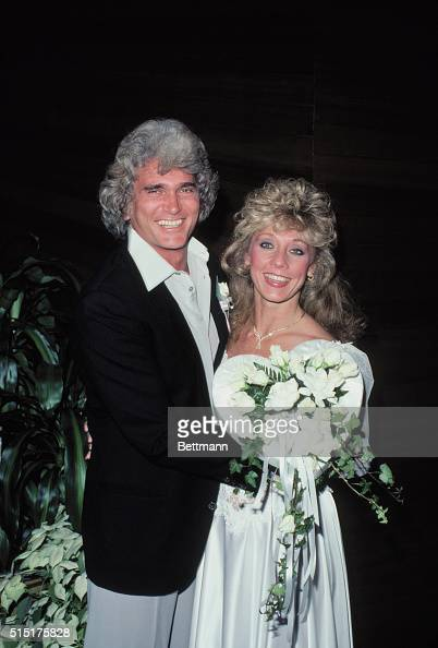 Actor-producer Michael Landon and Cindy Clerico were married today in... News Photo | Getty Images