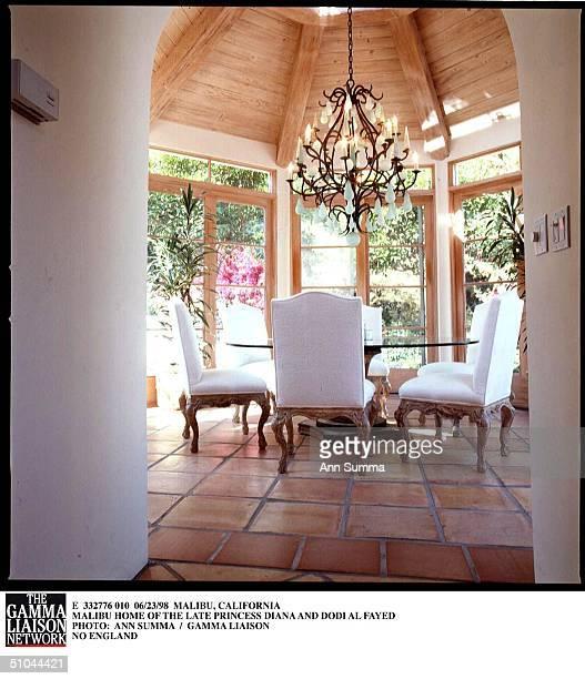 Malibu, California Malibu Home Of The Late Princess Diana And Dodi Al Fayed