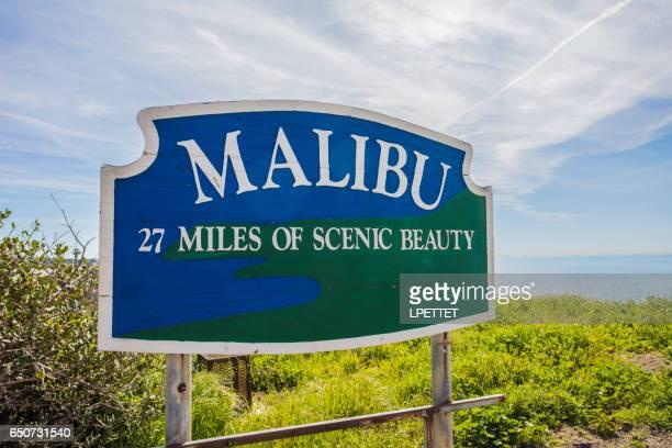 malibu-california - malibu foto e immagini stock