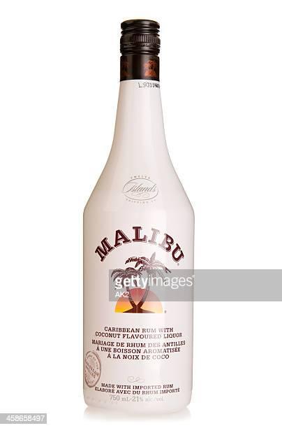 malibu coconut rum - malibu stock pictures, royalty-free photos & images
