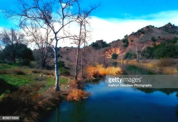 malibu creek state park - calabasas fotografías e imágenes de stock