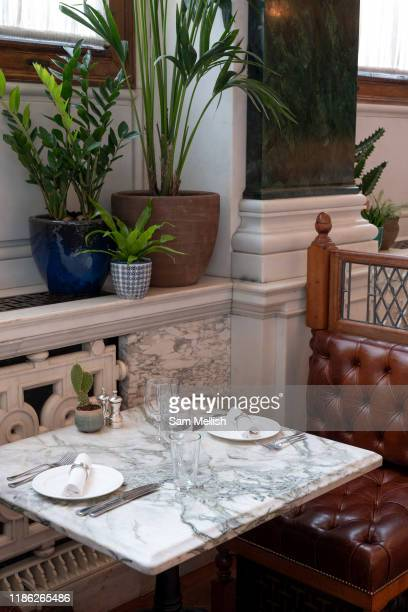 Malibu Kitchen at The Ned hotel on the 4th October 2019 in London in the United Kingdom The Ned is a luxury hotel and members club in the City of...