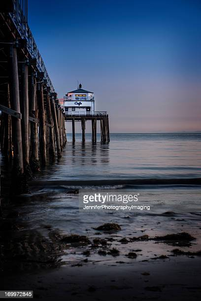 malibu sunset - malibu beach stock pictures, royalty-free photos & images