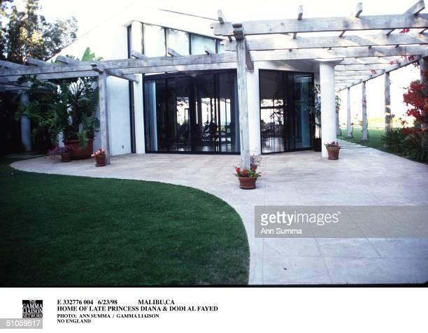Malibu,Ca Home Of Late Princess Diana & Dodi Al Fayed Daphne Barak Here