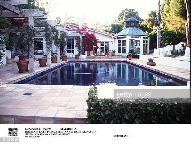 Malibu,Ca Home Of Late Princess Diana & Dodi Al Fayed