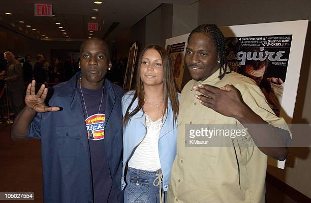 Malice and Pusha T of The Clipse with Angie Martinez