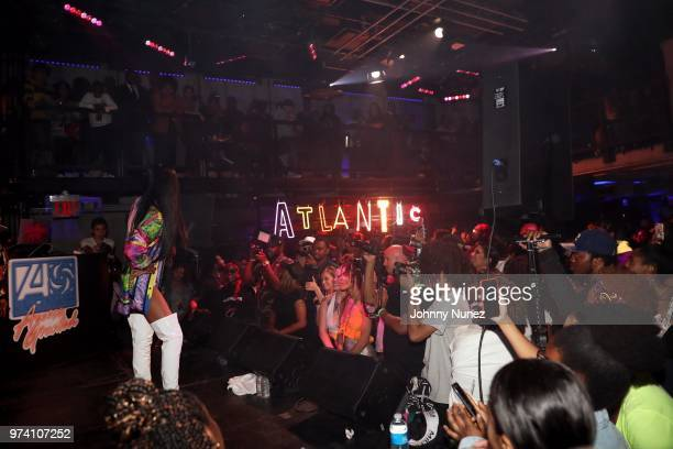 Maliibu Miitch performs at the Atlantic Records Access Granted Showcase on June 13 2018 in New York City