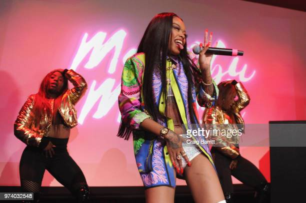 Maliibu Miitch performs onstage at the Atlantic Records 'Access Granted' Showcase on June 13 2018 in New York City