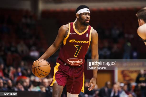 44e0973f8 Malik Newman of the Canton Charge handles the ball against the Wisconsin  Herd during the NBA