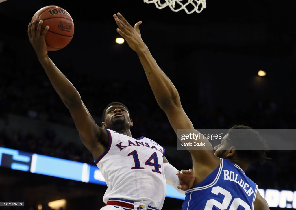 Duke v Kansas : News Photo