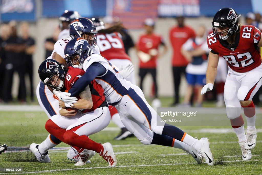 Denver Broncos v Atlanta Falcons : News Photo