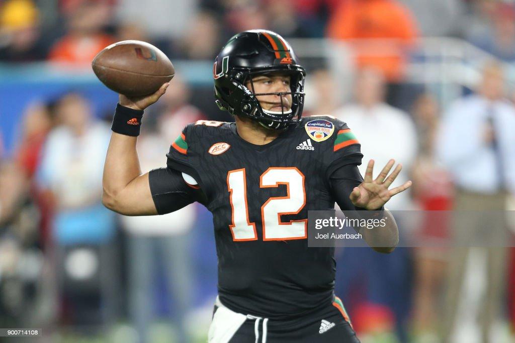 Capital One Orange Bowl - Miami v Wisconsin : News Photo
