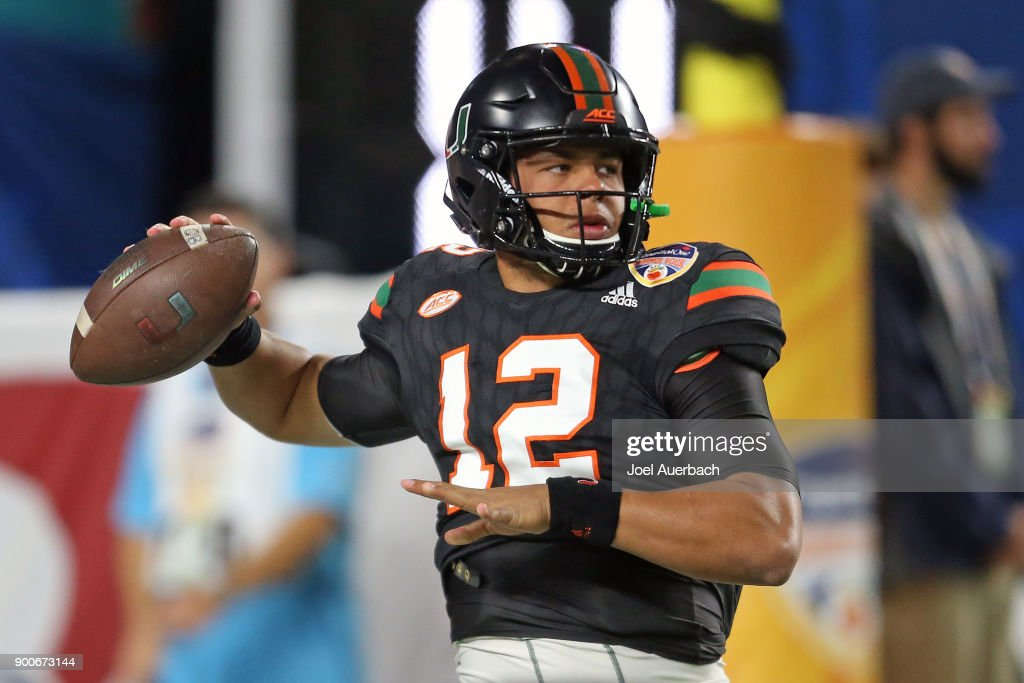 Capital One Orange Bowl - Miami v Wisconsin : News Photo