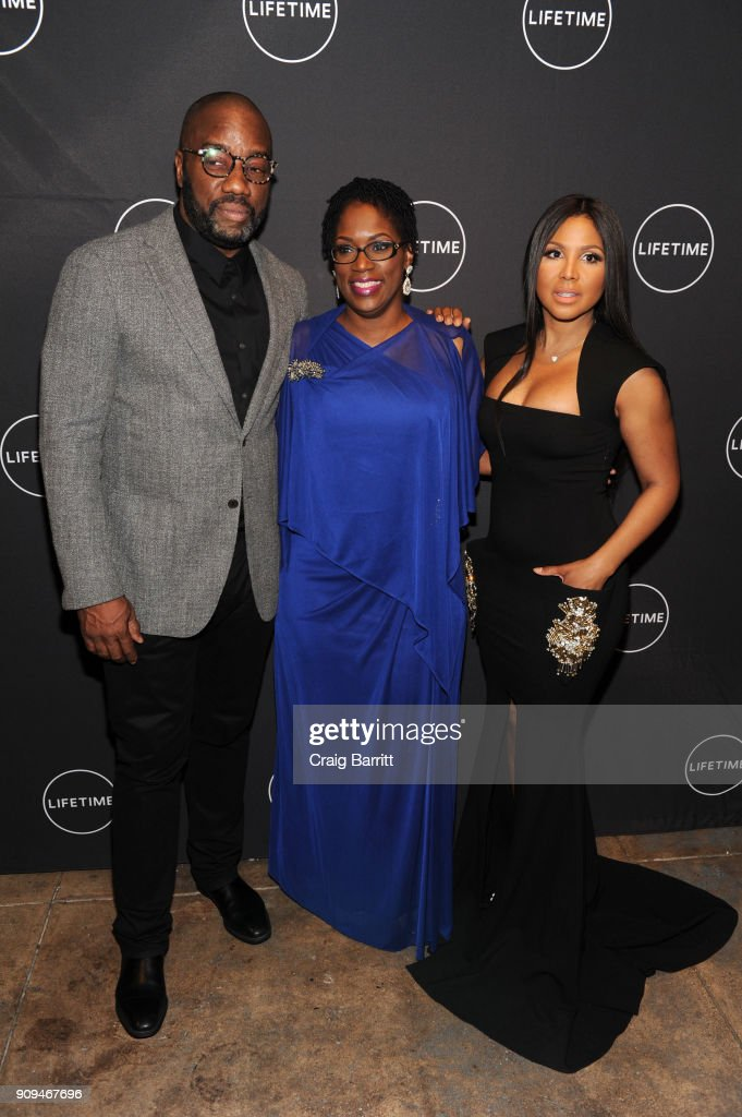 "The Cast And Producers From Lifetime""s Film,""Faith Under Fire: The Antoinette Tuff Story"" Attend The Red Carpet Screening And Premiere Event At NeueHouse Madison Square In New York, NY"
