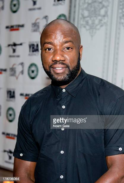 "Malik Yoba attends the ""Puncher's Mark"" Indiegogo Fundraiser Kick Off at Duane Park on August 27, 2013 in New York City."