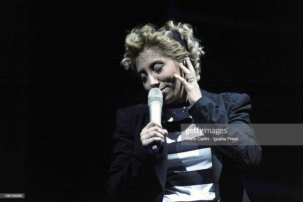 Malika Ayane performs at the Europa Auditorium on November 19, 2012 in Bologna, Italy.