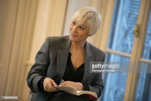Malika Ayane presents the book of the lawyer Ester Viola Gli Spaiati at the Adolfo Pini Foundation in Milan as part of the bookcity review Milan...