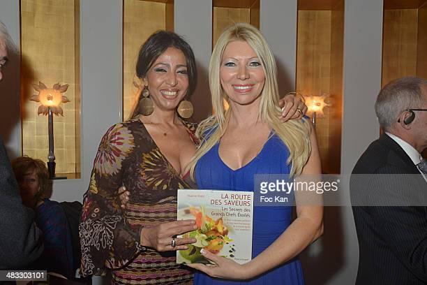 Malika Chauvelon from La Villa Mimouna restaurant and Nadine Rodd attend 'La Route Des Saveurs Les Secrets Des Grands Chefs Etoiles' Nadine Rodd's...