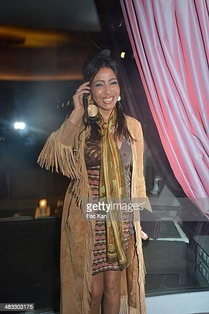 Malika Chauvelon from La Villa Mimouna restaurant attends 'La Route Des Saveurs Les Secrets Des Grands Chefs Etoiles' Nadine Rodd's Launch Book At...