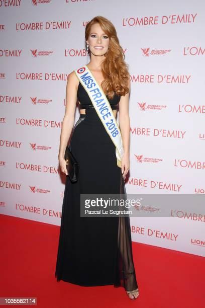 Malika Menard attends 'L'Ombre D'Emilie A Simple Favor' Premiere at Cinema UGC Normandie on September 18 2018 in Paris France