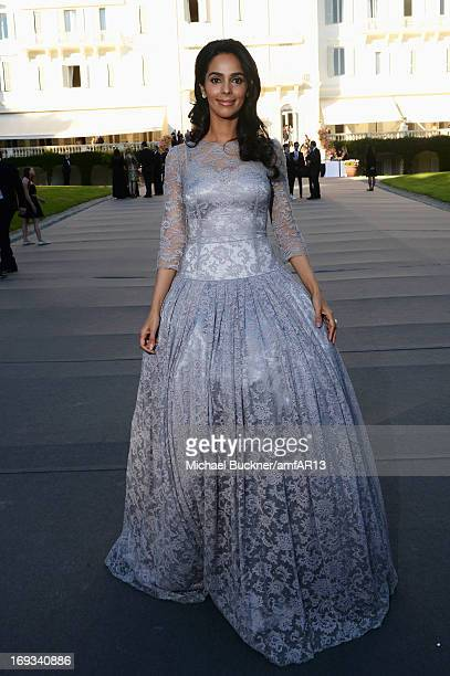 Malika Sherawat attends amfAR's 20th Annual Cinema Against AIDS during The 66th Annual Cannes Film Festival at Hotel du CapEdenRoc on May 23 2013 in...