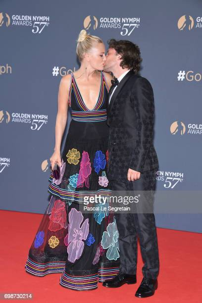 Malin Akerman and Jack Donnelly attends the closing ceremony of the 57th Monte Carlo TV Festival on June 20 2017 in MonteCarlo Monaco