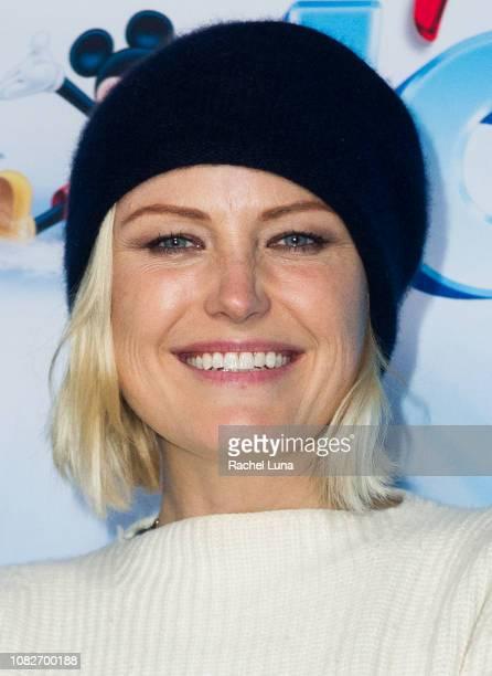 Malin Akerman attends Disney On Ice Presents 'Dare To Dream' at Staples Center on December 14 2018 in Los Angeles California