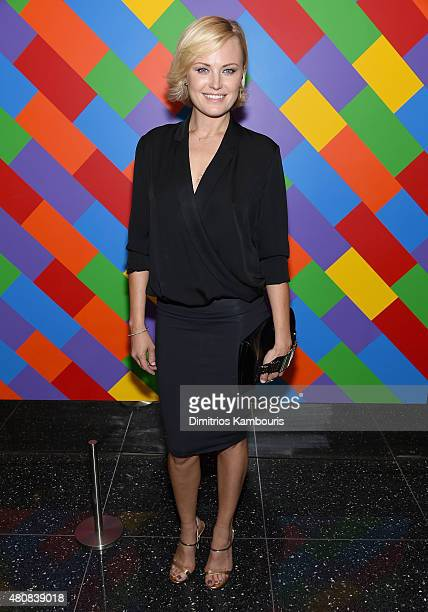 Malin Akerman attends Sony Pictures Classics Irrational Man premiere hosted by Fiji Water Metropolitan Capital Bank and The Cinema Society on July 15...