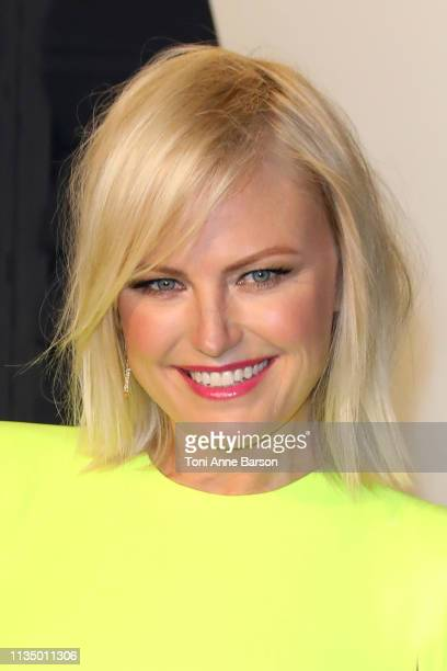 Malin Akerman attends the 2019 Vanity Fair Oscar Party hosted by Radhika Jones at Wallis Annenberg Center for the Performing Arts on February 24 2019...