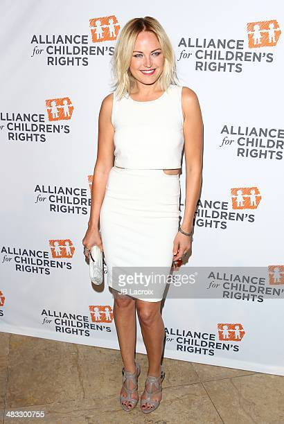 Malin Akerman attends The Alliance For Children's Rights 22nd Annual Dinner held at the Beverly Hilton hotel on April 7 2014 in Beverly Hills...