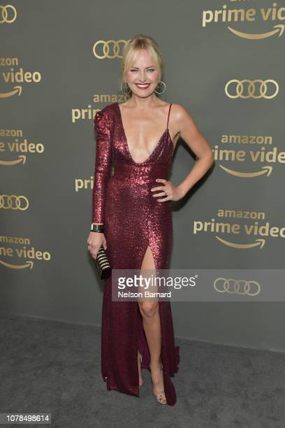 Malin Akerman attends the Amazon Prime Video's Golden Globe Awards After Party at The Beverly Hilton Hotel on January 6 2019 in Beverly Hills...