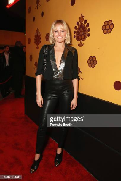 Malin Akerman attends The Grand Opening Of Raspoutine Los Angeles With treats Magazine on January 18 2019 in West Hollywood California