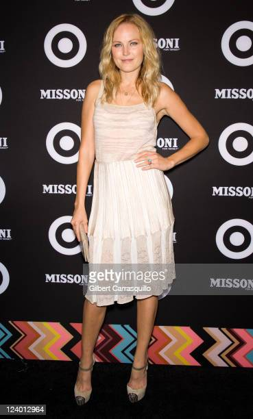 Malin Akerman attends the Missoni for Target Collection launch at the Missoni for Target Pop-Up Store on September 7, 2011 in New York City.