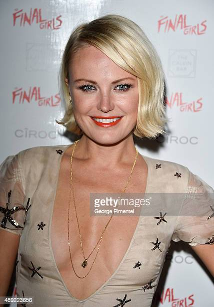 Malin Akerman attends the The Final Girls TIFF party at America Trump Tower Toronto Hosted By Ciroc on September 19 2015 in Toronto Canada