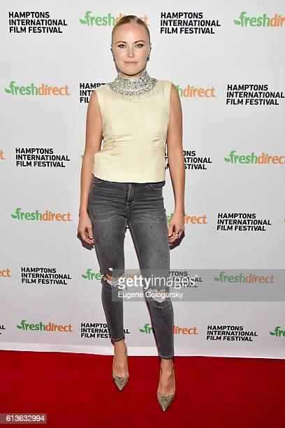 Malin Akerman attends The Ticket screening during the Hamptons International Film Festival 2016 at UA East Hampton Cinema 6 on October 9 2016 in East...