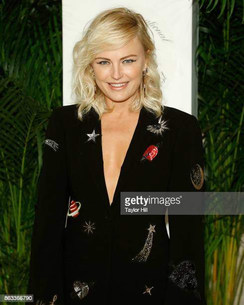 Malin Akerman attends the Vanity Fair And Saks Fifth Avenue 2017 International BestDressed List Party at Academy Mansion on October 19 2017 in New...