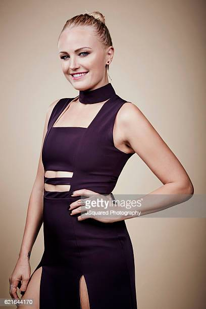 Malin Akerman poses for a portraits at the Environmental Media Association 26th Annual EMA Awards Presented By Toyota Lexus and Calvert Investments...