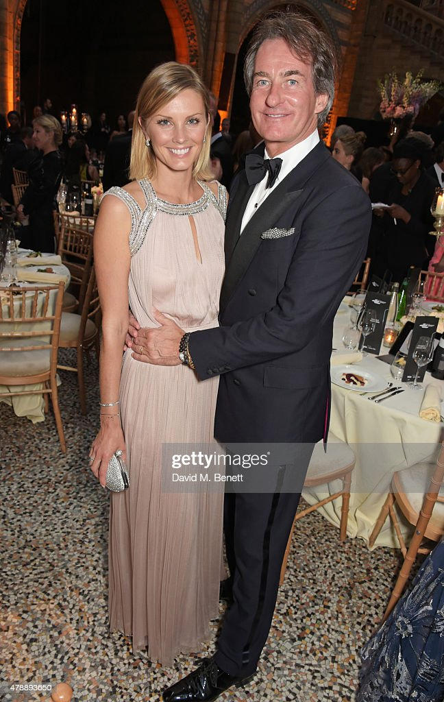 Malin Jefferies (L) and Tim Jefferies attend the 2015 FIA Formula E Visa London ePrix Gala Dinner at the Natural History Museum on June 28, 2015 in London, England.