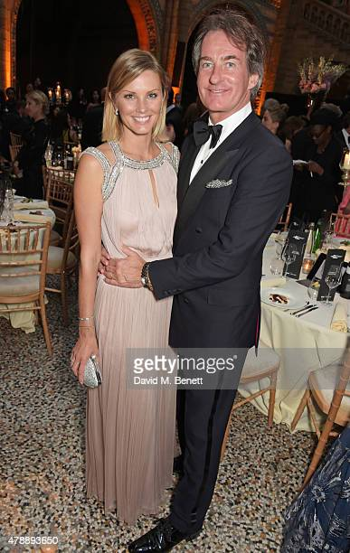 Malin Jefferies and Tim Jefferies attend the 2015 FIA Formula E Visa London ePrix Gala Dinner at the Natural History Museum on June 28 2015 in London...