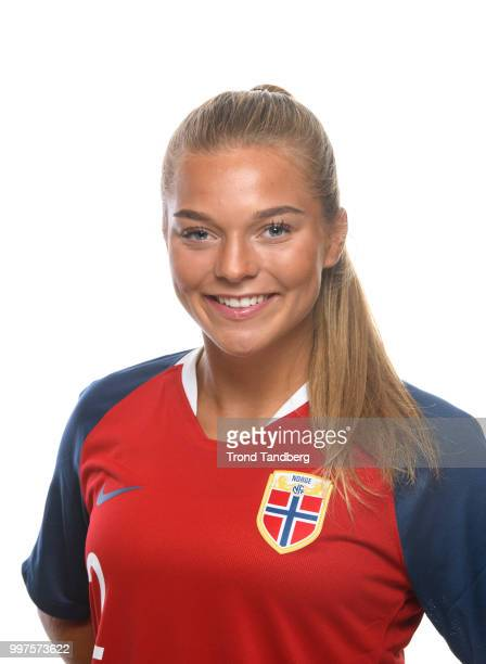 Malin Skulstad Sunde of Norway during J19 Photocall at Thon Arena on July 12 2018 in Lillestrom Norway